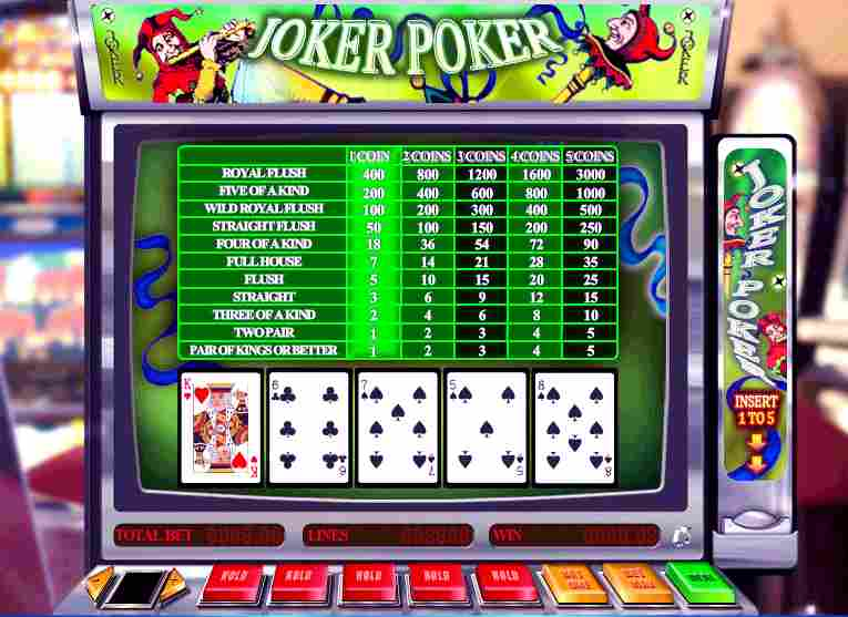 Video Poker Joker Poker Online